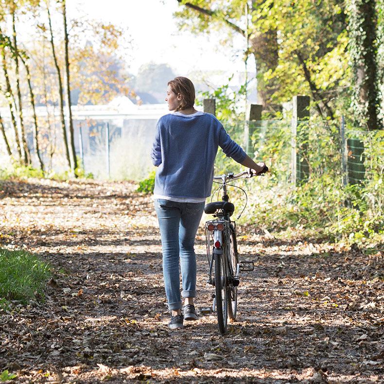 Direkt vom Gesundheitshotel Gugerbauer aus können Sie zu Fuß oder mit dem Fahrrad, die ruhigen und idyllischen Inn-Auen erkunden.